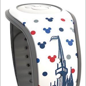 Disney World Mickey Americana Magicband